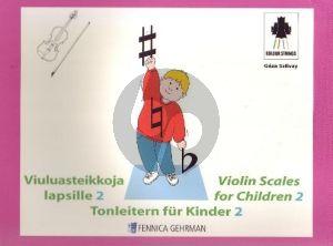 Violin Scales for Children Vol.2