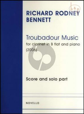Troubadour Music Clarinet and Piano
