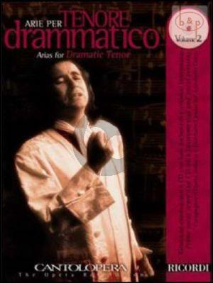 Arias for Dramatic Tenor Vol.2 (Voice-Piano)