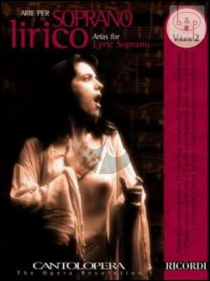 Arias for Lyric Soprano Vol.2 (Voice-Piano)