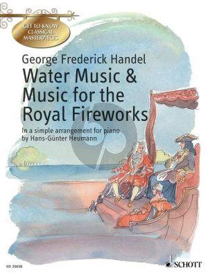 Handel Water Music & Music for the Royal Fireworks (simple arr. by Hans-Gunter Heumann) (gr.2)