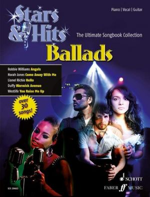 Stars & Hits: Ballads Piano-Vocal-Guitar (The Ultimate Songbook Collection)