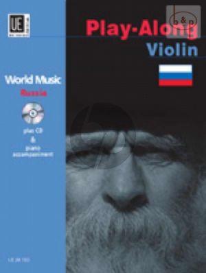 World Music Russia (Violin-Piano) (Bk-Cd)