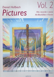 Hellbach Pictures Vol.2 Altblfl.-Klavier Buch-CD