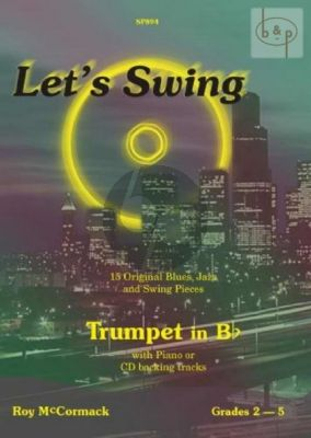 McCormack Let's Swing for Trumpet and Piano (Bk-Cd) (grades 2 - 5)