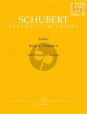 Lieder Vol. 4 Tief / Low