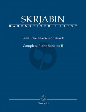 Scriabin Samtliche Sonaten Vol. 2 No. 4 - 5 Klavier (Christoph Flamm)