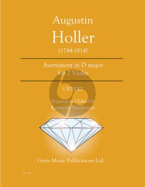 Holler Avertiment D-major - 2 Violas (Prepared and Edited by Kenneth Martinson) (Urtext)