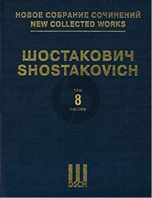 Shostakovich Symphony No. 8 Full Score (New collected works of Dmitri Shostakovich. Vol. 8)