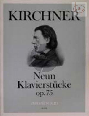 9 Klavierstucke Op.75
