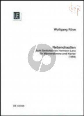 Nebendraussen (8 Gedichte von Hermann Lenz)