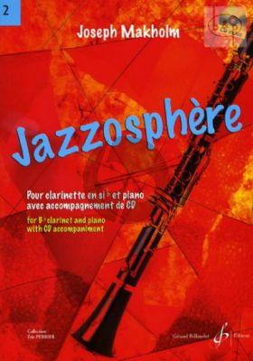 Jazzosphere Vol.2 (Clar.[Bb]-Piano) (Bk-Cd)