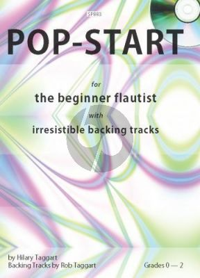 Taggart Pop Start for Flute (Beginners) (Bk-Cd)
