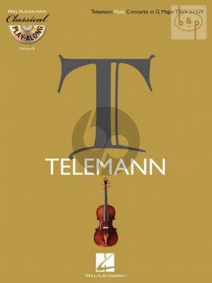 Concerto G-major TWV 51:G9 viola