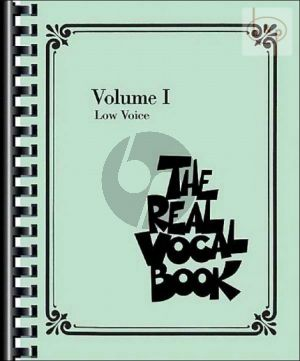 The Real Vocal Book Vol.1 Low Voice