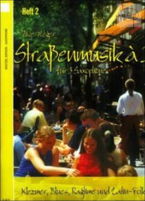 Strassenmusik a 3 Vol.2 (Klezmer-Blues-Ragtime and Latin-Folk)