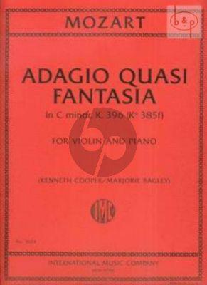 Adagio quasi Fantasia c-minor KV 396