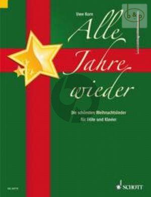 Alle Jahre Wieder (Die schonsten Weihnachtslieder) (Flute-Piano)