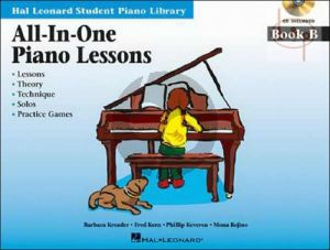 All in One Piano Lessons Book B