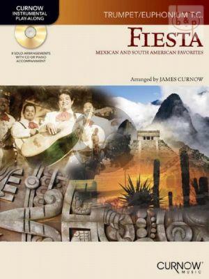 Fiesta (Mexican & South American Favorites) (Trumpet or Baritone in treble clef)