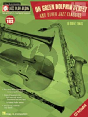 On Green Dolphin Street & other Jazz Classics (Jazz Play-Along Series Vol.103)