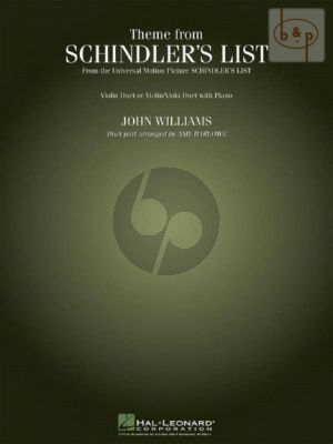 Schindler's List (Theme) 2 Vi. [Vi./Va.] with Piano