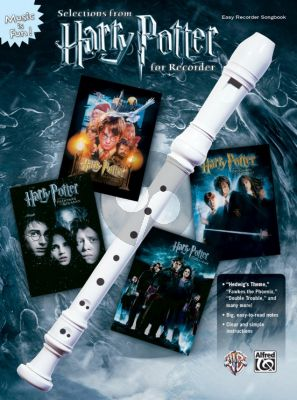 Williams Harry Potter Selections for Recorder (very easy level)