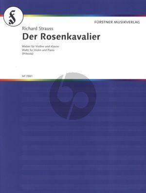 Strauss Der Rosenkavalier Walzer Op.59 Violin and Piano (arr. Vasa Prihoda)