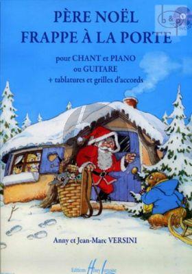 Pere Noel frappe a la Porte (Voice-Piano[Guitar]