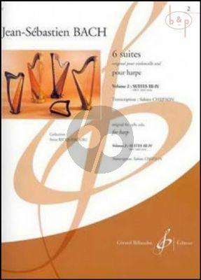 6 Suites Vol.2 (Suite No.3 - 4 BWV 1009 - 1010) (orig. Violoncelle) (transcr. Sabine Chefson)