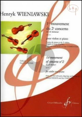 Concerto No.2 op.22 d-minor 1er Mouvement (with 2nd Violin)