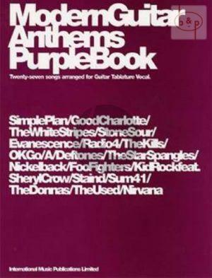 Modern Guitar Anthems Purple Book (27 Songs)