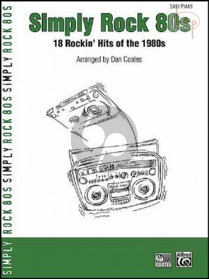 Simply Rock 80's (18 Rockin' Hits of the 1980s)