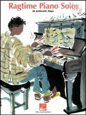 Ragtime Piano Solos (44 Authentic Rags)