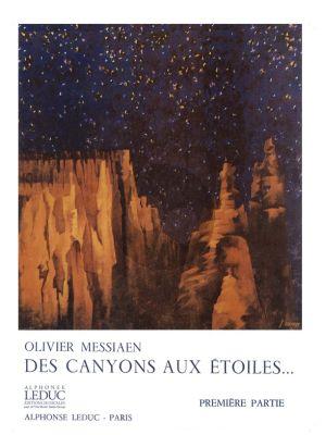 Messiaen Des Canyons aux etoiles... Part 1 Partitition