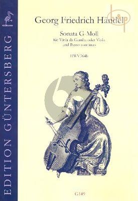 Sonate g-moll HWV 364b