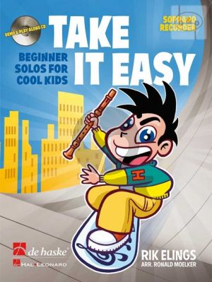 Take it Easy (Beginner Solos for Cool Kids) (Descant Rec.) (Bk-Cd)