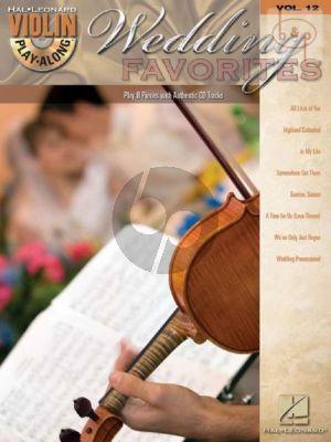 Wedding Favorites Violin
