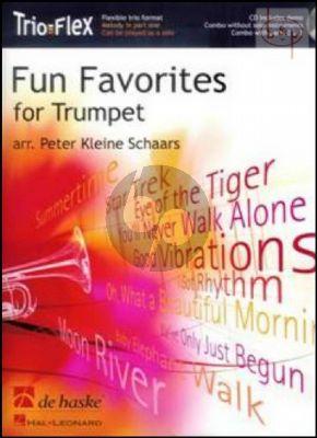Fun Favorites for Trumpet (Trio-Flex) (3 Trumpets[Bb]) (Bk-Cd) (arr. Peter Kleine Schaars)