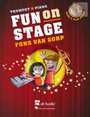 Fun on Stage (Trumpet-Piano) (Bk-Cd)