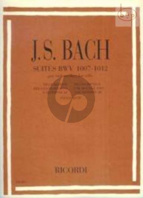 6 Suites BWV 1007 - 1012