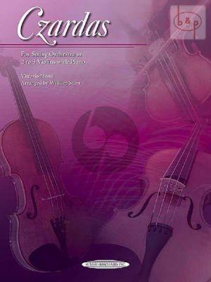 Czardas (String Orch. or 2 - 3 Violins-Piano) (Score/Parts)