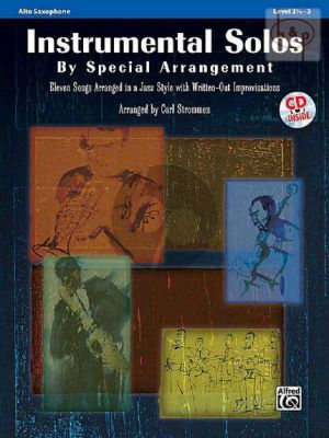 Instrumental Solos by Special Arrangement (In Jazz Style with written-out Improvisations) (Alto Sax.)