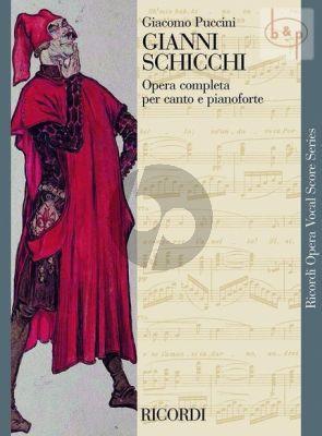 Gianni Schicchi (Il Trittico) (Vocal Score)