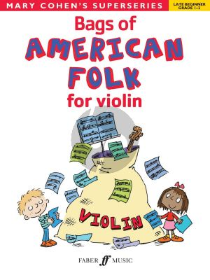 Cohen Bags of American Folk for Violin (Late Beginner Grades 1 - 2)