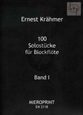 100 Solostucke Op. 31 Vol.1 No. 1 - 61 Sopranblockflöte