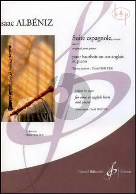 Suite Espagnole Op.47 (excepts) (Oboe[Engl.Horn]-Piano) (arr. Davis Walter)