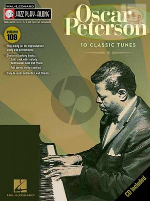 10 Classic Tunes (Jazz Play-Along Series Vol.109)