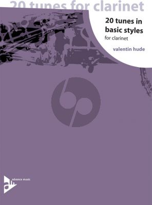 Hude 20 Tunes in Basic Styles for Clarinet