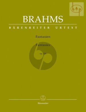 Brahms Fantasien Op.116 Piano